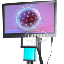 """1080P 60FPS HDMI Industrial Digital Microscope Camera Sony IMX178 +11.6"""" IPS LCD"""