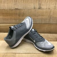 Nike Mens FS Lite Run 3 Running Shoes Gray 807144-008 Low Top Lace Up Mesh 9.5 M