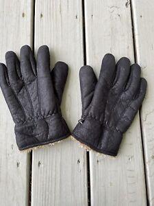 Columbia Mens Sz L/XL Black Gloves Thinsulate Insulation 40 Grams