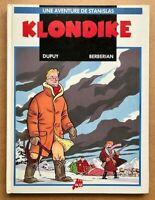 BD KLONDIKE Stanislas / EO 1990 /Dupuis & Berberian Univers Spirou Monsieur Jean