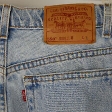 Womens Levis 550 Relaxed Fit Tapered Leg Mom Jeans Size 12 Long MADE IN USA