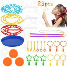 23Pcs Bubble-Making Toys Makers Colorful Bubbles for Kids Leisure Bubble Set