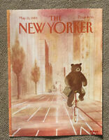 COVER ONLY ~ The New Yorker Magazine, May 23, 1983 ~ Charles Addams