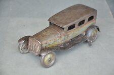Vintage Wind Up K.K Trademark 3771 Litho Car Tin Toy , Japan