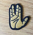 Star Trek Classic Spock Live Long & Prosper Hand Salute Mini Patch 1.5 inches