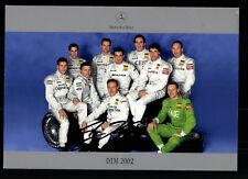 DTM 2002 Autogrammkarte Original Signiert Motorsport+G 19046