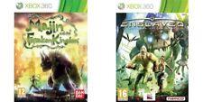 Majin & The Forsaken Kingdom + Enslaved Odyssey To The West  PAL XBOX 360