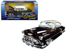 1/24 Jada 1953 Chevrolet Bel Air Lowrider Series ST Low White Top Brown 98916