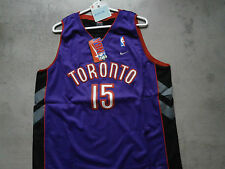 Nike VINCE CARTER sz XXL NBA TORONTO RAPTORS Purple Jersey Swingman Lngth+2 NWT