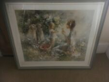 "Willem Haenraets ""Picnic"" S/N Serigraph Limited Edition"