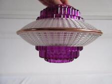 BELLA piccola vintage retrò anni'60/anni'70 plastica SPACE AGE UFO Lampadario da soffitto