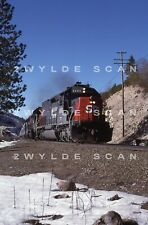 ORIG SLIDE Southern Pacific 8365 Super Bowl Special @ Emigrant Gap Donner Pass