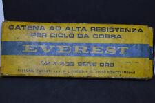 Nos Catena EVEREST Serie Oro 1/2x3/32  compatibile Campagnolo Colnago Vintage