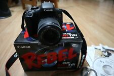 Canon Rebel Eos T6i 18-55 Is stm kit black WIFI certified Camera