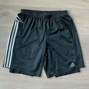 adidas 'Response' Running Two-Layer Shorts - Black - Medium
