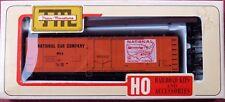 HO Train Miniature National Car Co. 40' Plug Door Reefer Car Kit