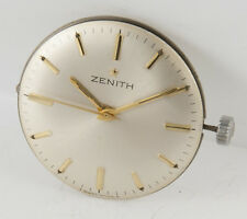 Zenith Manual Wind Movement 2532 Year 1967 + Dial + Original crown + Caseback