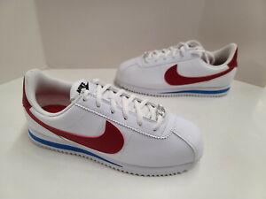 NIB Youth Nike Cortez Basic SL GS (Grade School) White Varsity Red 904764 103
