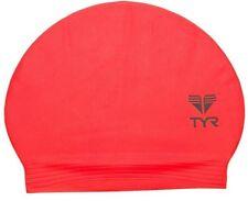 New TYR Latex Swim Cap - Color FLORESCENT ORANGE