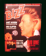 David Bowie - Rare Bizz Magazine May 1987 Brazil