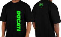 New DUCATI Vertical Motorcycle TShirt