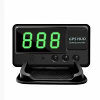 Universal Auto GPS HUD Digital Head Up Display Geschwindigkeitsmesser Alarm