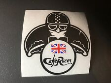 STICKER TRIUMPH CAFE RACER CASQUE STREET SPEED TRIPLE DAYTONA ROCKET SPRINT RACE