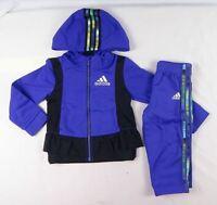 Adidas baby girls' set, 2 piece Tracksuit Jacket & pants size 12 months