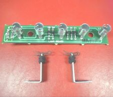 Gottlieb System 3 Pinball ~ MA1975 5-Position Lamp PCB With Standoffs & Clips