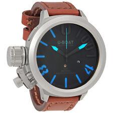 U-Boat Classico Automatic Black Dial Mens Watch 6074