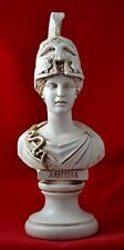 Athena bust greek statue wisdom civilization goddess NEW