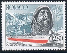 TIMBRE DE MONACO N° 1935 ** EUROPA / L'EUROPE ET LES DECOUVERTES / VOILIER