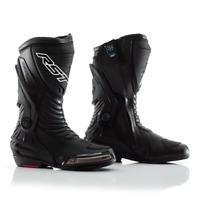 RST Tractech Evo III 3 CE WATERPROOF Boots Motorbike Motorcycle Black
