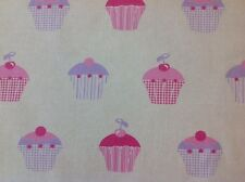 Iliv Swatch Box Cupcakes In Candyfloss Curtain Fabric By The Metre