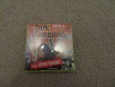 Vintage 8mm Dark Command John Wayne Super 8 Sealed 3 inch Reel See My Store