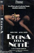 REGINA DELLA NOTTE  (1989) VHS  Marina PIERRO - Walerian Borowczyk