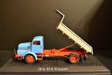 IFA H6 dump truck from East Germany diecast in scale 1/43
