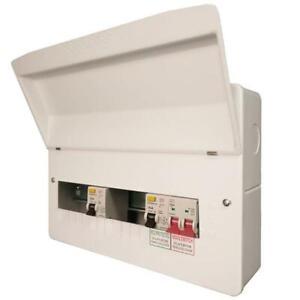 FuseBox F2011D80 11 Way Dual RCD 80A & Consumer Unit