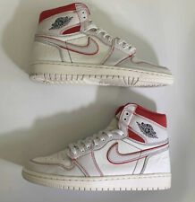 Nike Air Jordan 1 High OG Phantom Red Beige Black Sail Size 10 555088-160