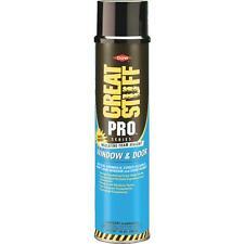 3-Great Stuff Pro 20 Oz Yellow Color Insulating Window Door Foam Sealant 197711