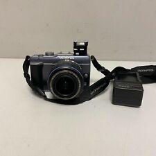 Olympus PEN E-PL1 12.3MP Digital Camera - Blue Gray Kit w/ ED 14-42mm Lens