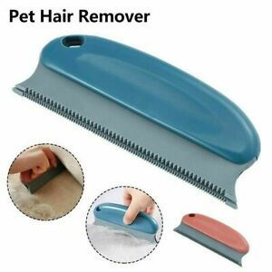 Reusable Pet Dog Cat Hair Remover Sofa Carpet Clothes Bed Lint Cleaning Brush