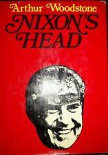 Vintage HCDJ Nixon's Head by Arthur Woodstone 1972 Used