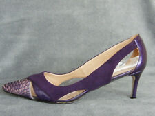 Elegant Ladies/Mens/Cross Dresser/Transgender Court Shoe in Purple EU46