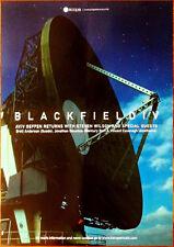 BLACKFIELD IV Ltd Ed Discontinued RARE Poster +FREE Rock Poster PORCUPINE TREE
