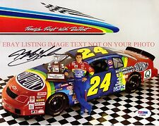 JEFF GORDON AUTOGRAPHED 8x10 RP PHOTO NASCAR LEGENDARY DRIVER DAYTONA