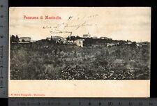 [19935] CUNEO - MONTICELLO D'ALBA - PANORAMA _ 1905