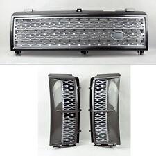 Range Rover 03-05 Mesh Gunmetal Front Bumper Hood Grill & Side Fender Vents