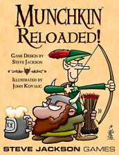 Munchkin Expansion Reloaded! Reloaded Booster Pack Steve Jackson Games New
