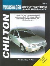 Volkswagen Golf/Jetta/Cabrio, 1999-2002 [Chilton's Total Car Care Repair Manual]